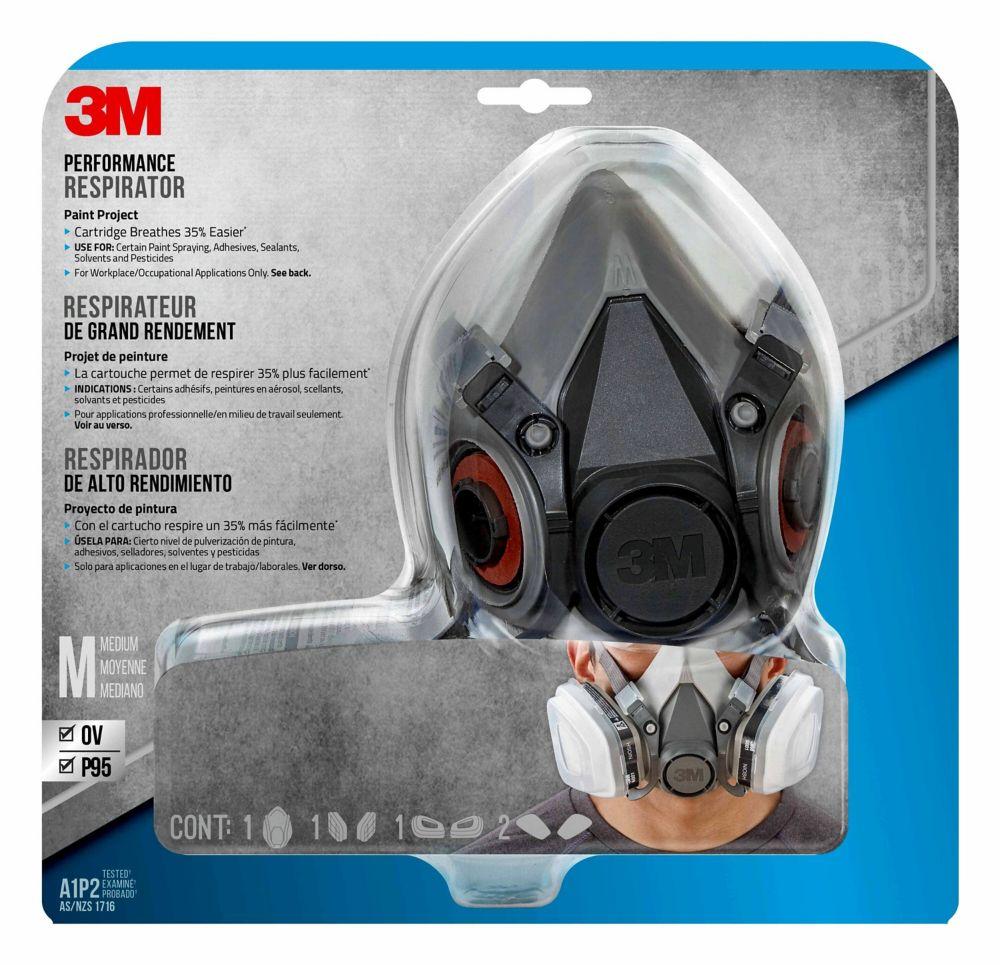 Respirateur pour application de peinture en aerosolN95 3M