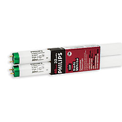 "Philips Fluorescent 32W T8 48"""" Soft White (3000K) - (2-Pack)"