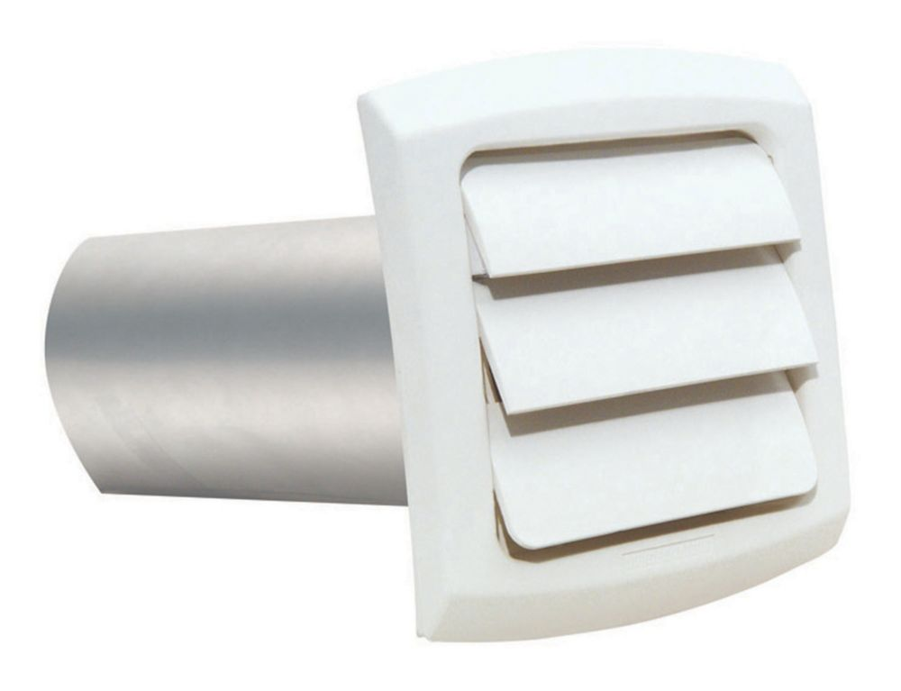 Provent Exhaust Hood White 4 inch