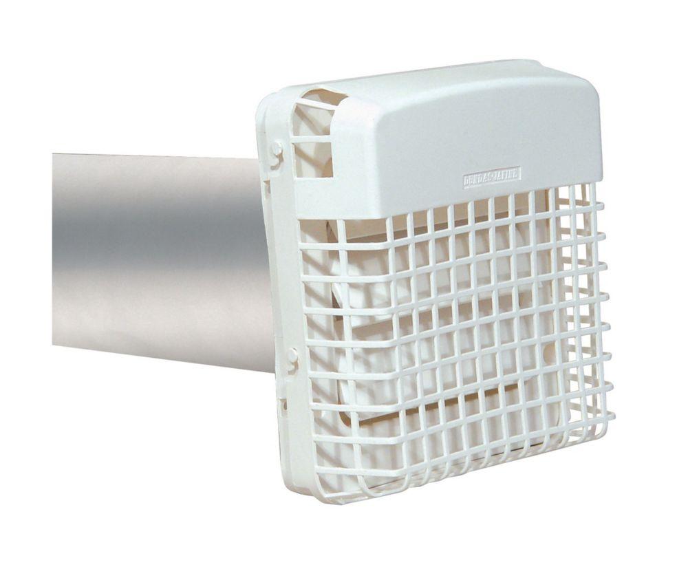 ProGard hotte d'évacuation d'air du sèche-linge, blanc, 4 po