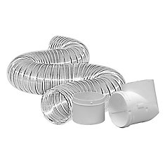 Dryer To Duct Connector Kit 4 inch x8 foot
