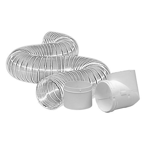 Dundas Jafine Dryer To Duct Connector Kit 4 inch x8 foot