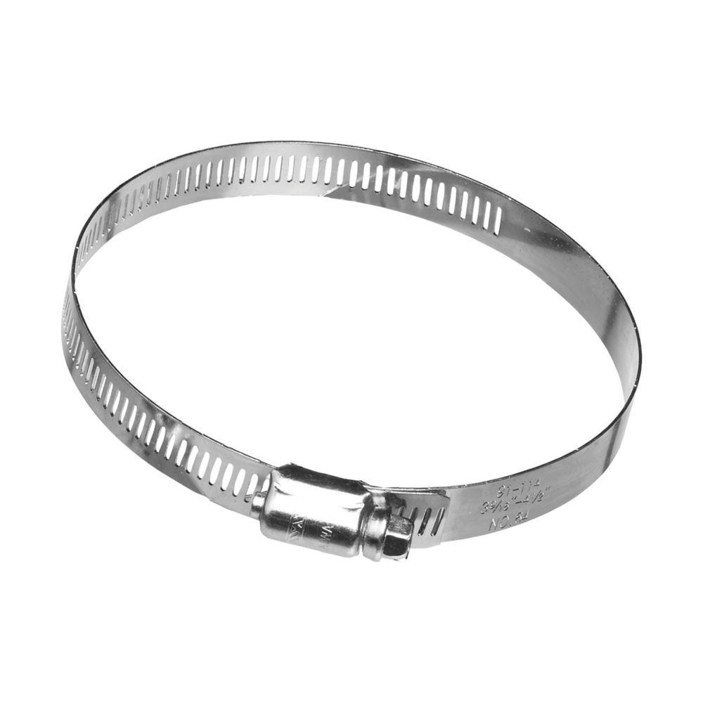 Colliers de serrage à vis sans fin en metal, 4 po