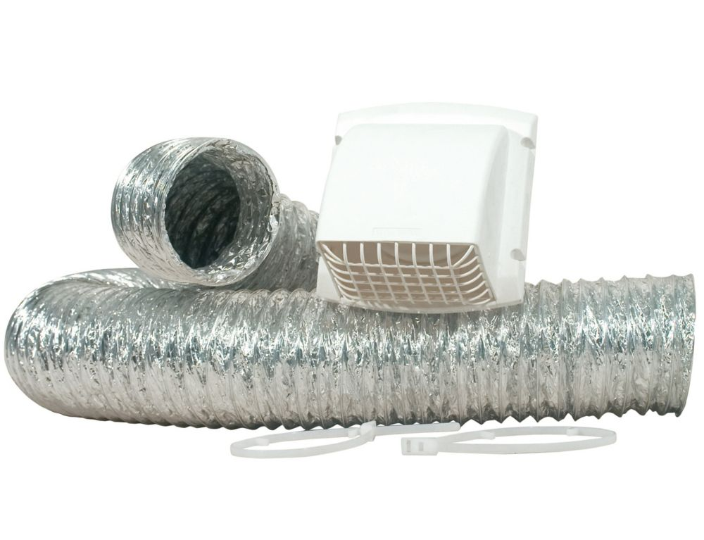 Promax Dryer Vent Kit With UL Listed Duct 4 inch