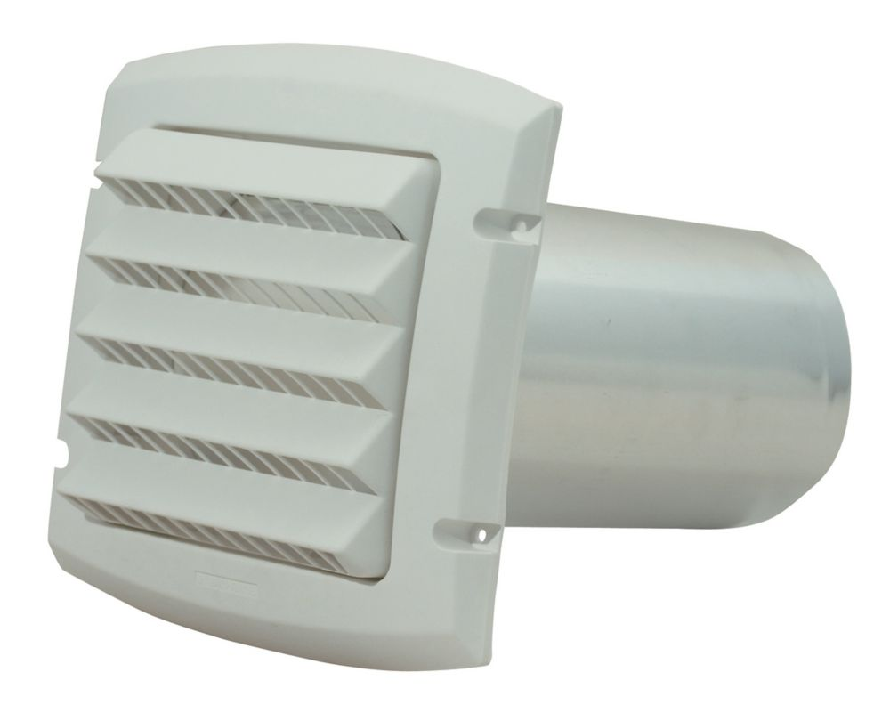 Provent Intake Hood White 6 inch