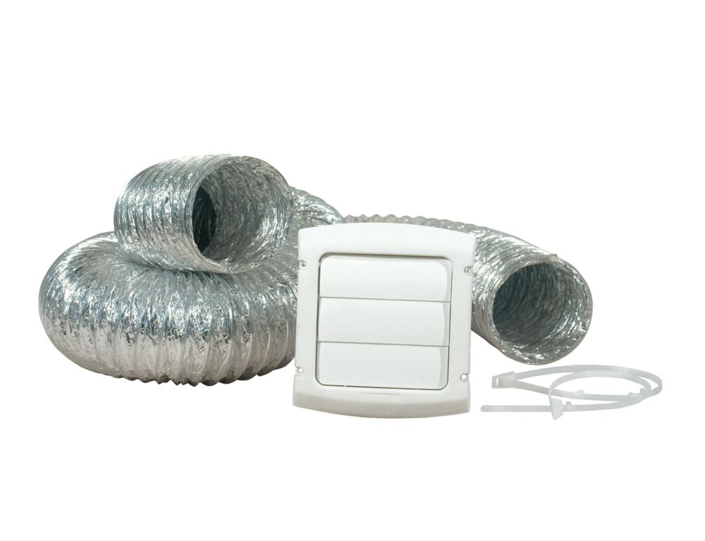 Provent Dryer Vent Kit With UL Listed Duct 4 inch