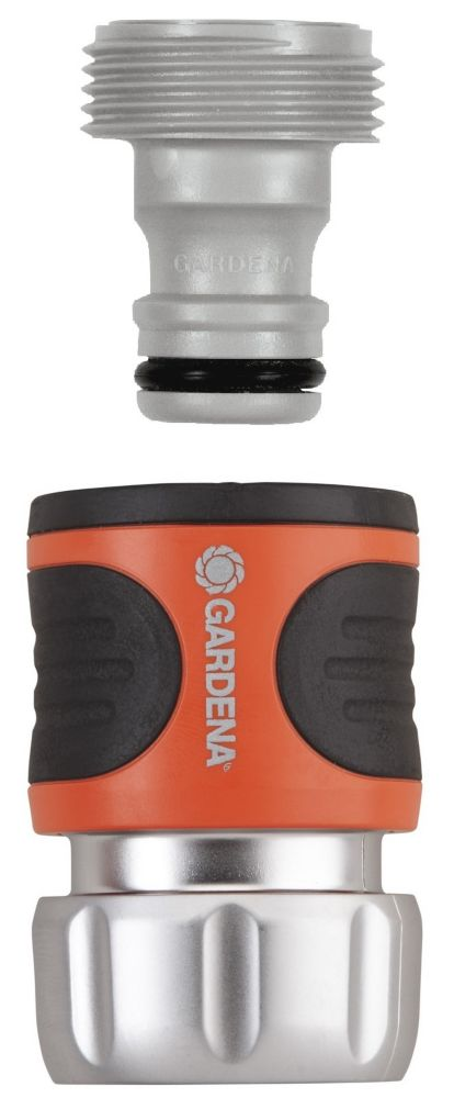 GARDENA  Ensemble de raccord (accessoire) Premium   avec Aquastop