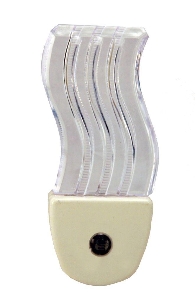 White Wave Night Light LED