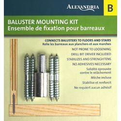 Alexandria Moulding Baluster Fastening Kit