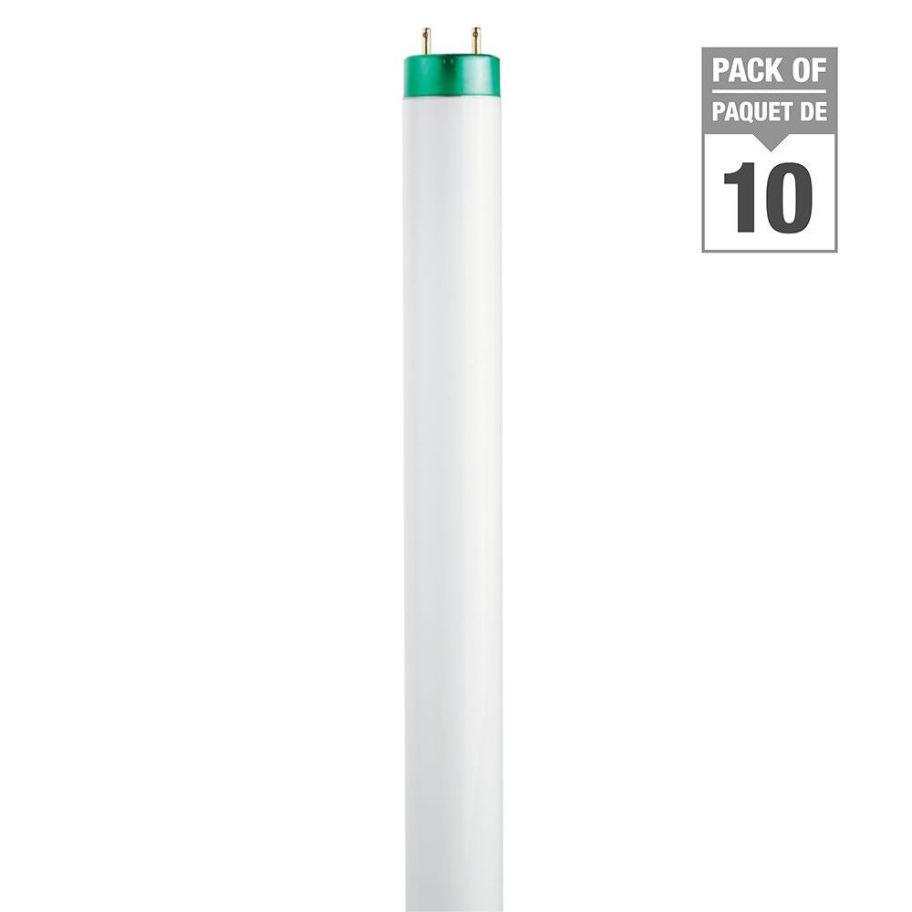 Fluorescent Linéaire T8 32W 48 po Naturel (5000K) 10/paq.