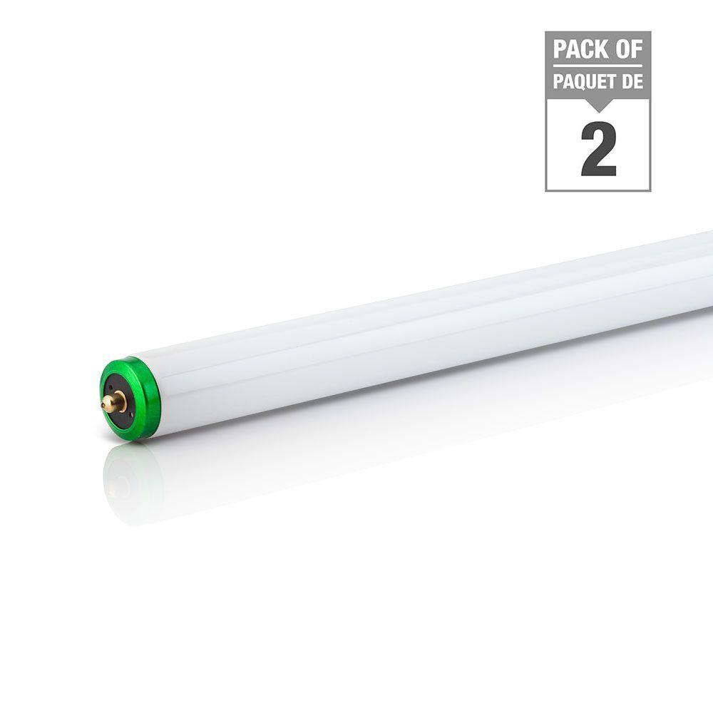 """Fluorescent  75W T12 96"""" Natural Supreme Alto (5000K) - 2 Pack"""