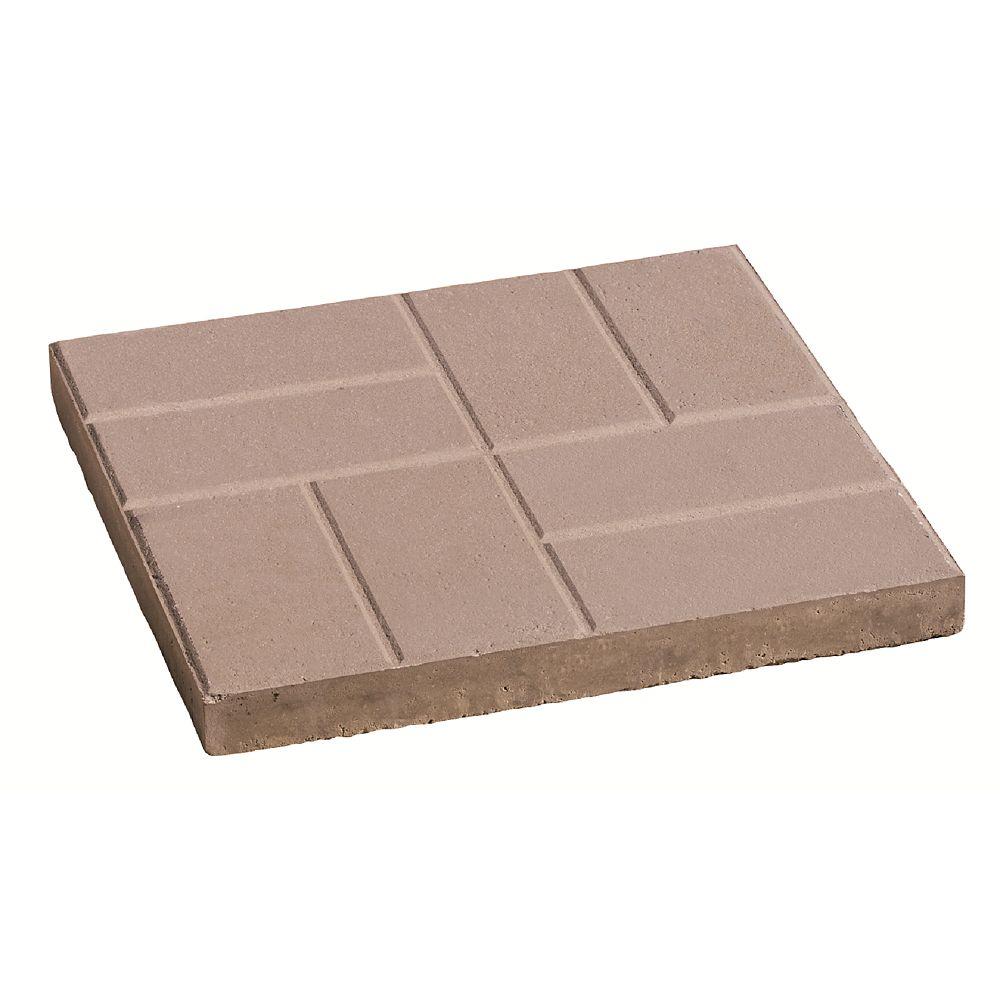 Oldcastle 24x24 Brick Slab Natural