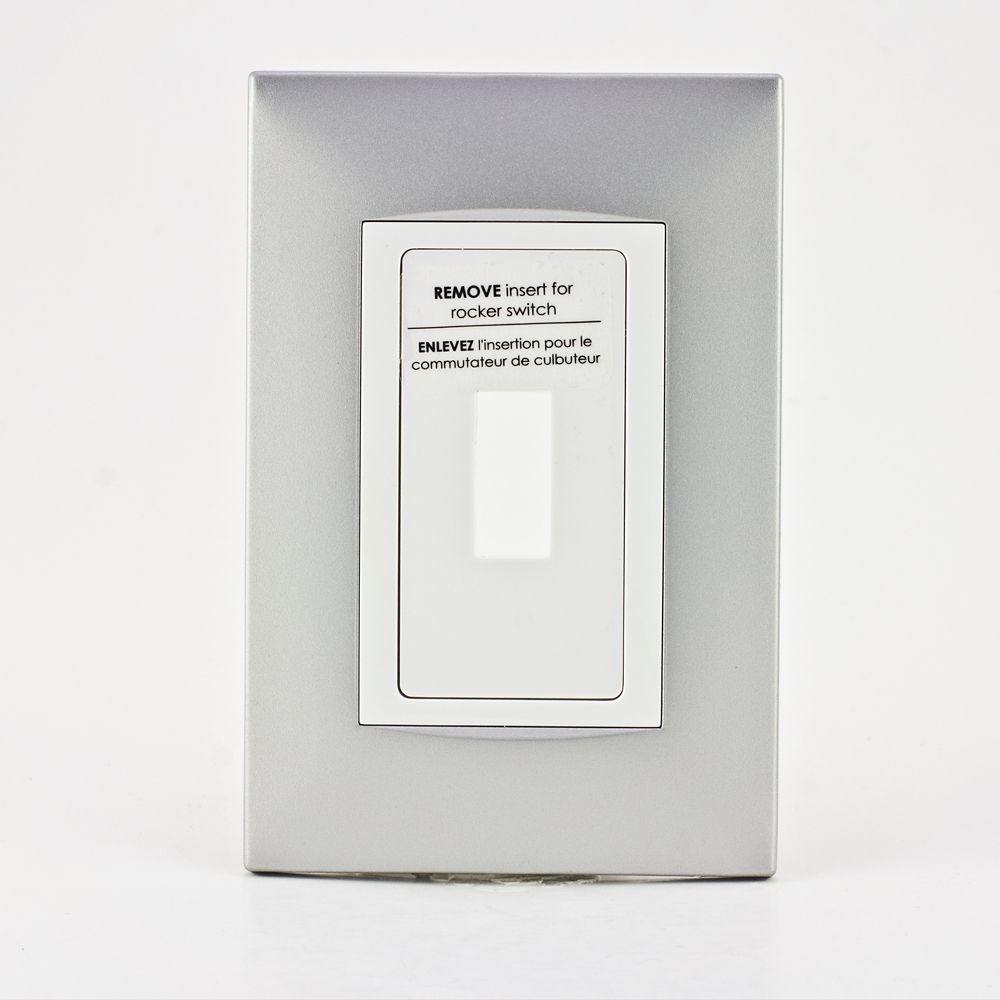 Retro-Fit Electrical Switch Plate Kit-Aluminum, 1-Gang 711057 in Canada