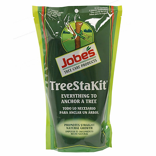 Tree Staking Kit with Rope and Stakes, UV Resistant