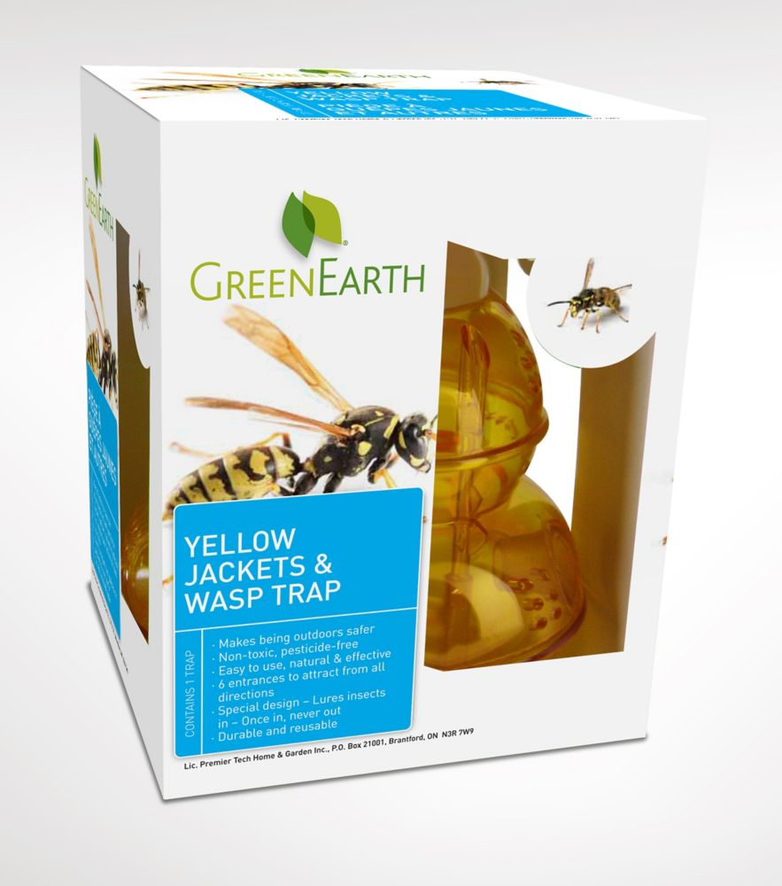 Wasp Trap - For Wasps And Yellow Jackets