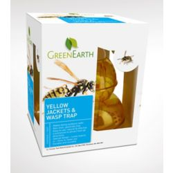 Green Earth Wasp Trap for Wasps and Yellow Jackets