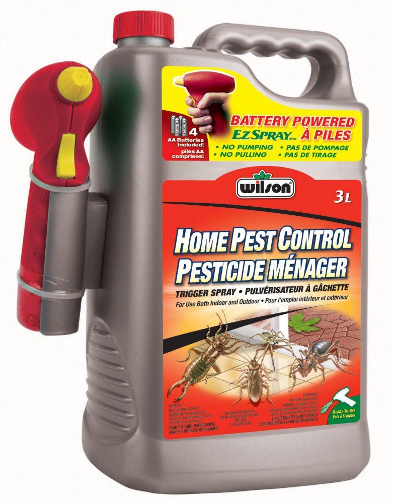 Pesticide ménager à piles Wilson (PAE, 3 L)