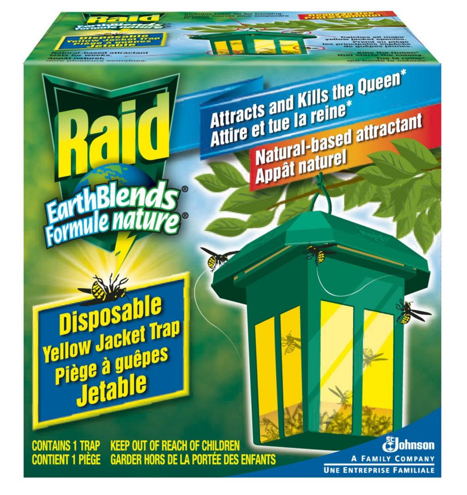 Raid Earthblends Yellow Jacket Traps