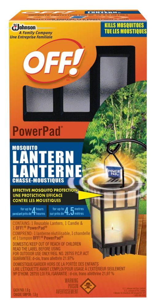 OFF! PowerPad Lanterne chasse-moustiques