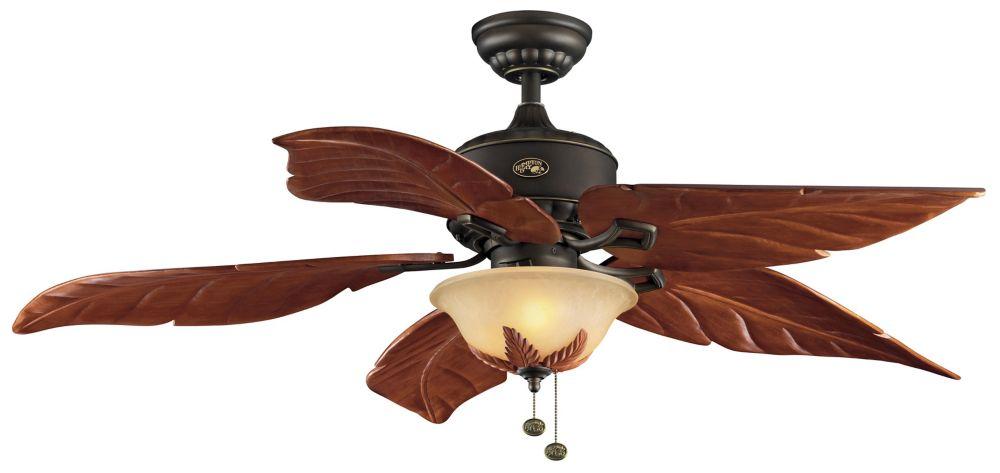 Antigua Bronze Ceiling Fan - 56 Inch