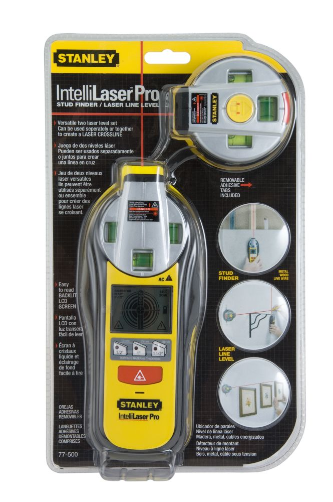IntelliLaser� Pro Stud Sensor and Laser Line Level