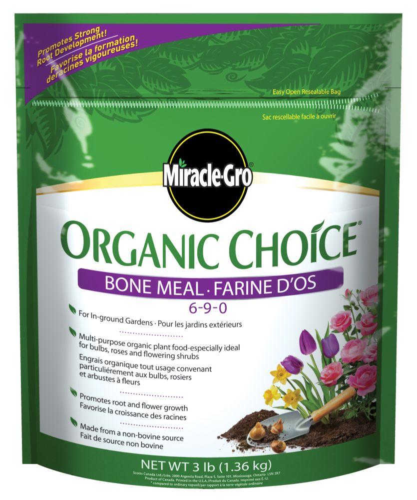 Miracle-Gro Organic Choice 6-9-0 Farine d'os