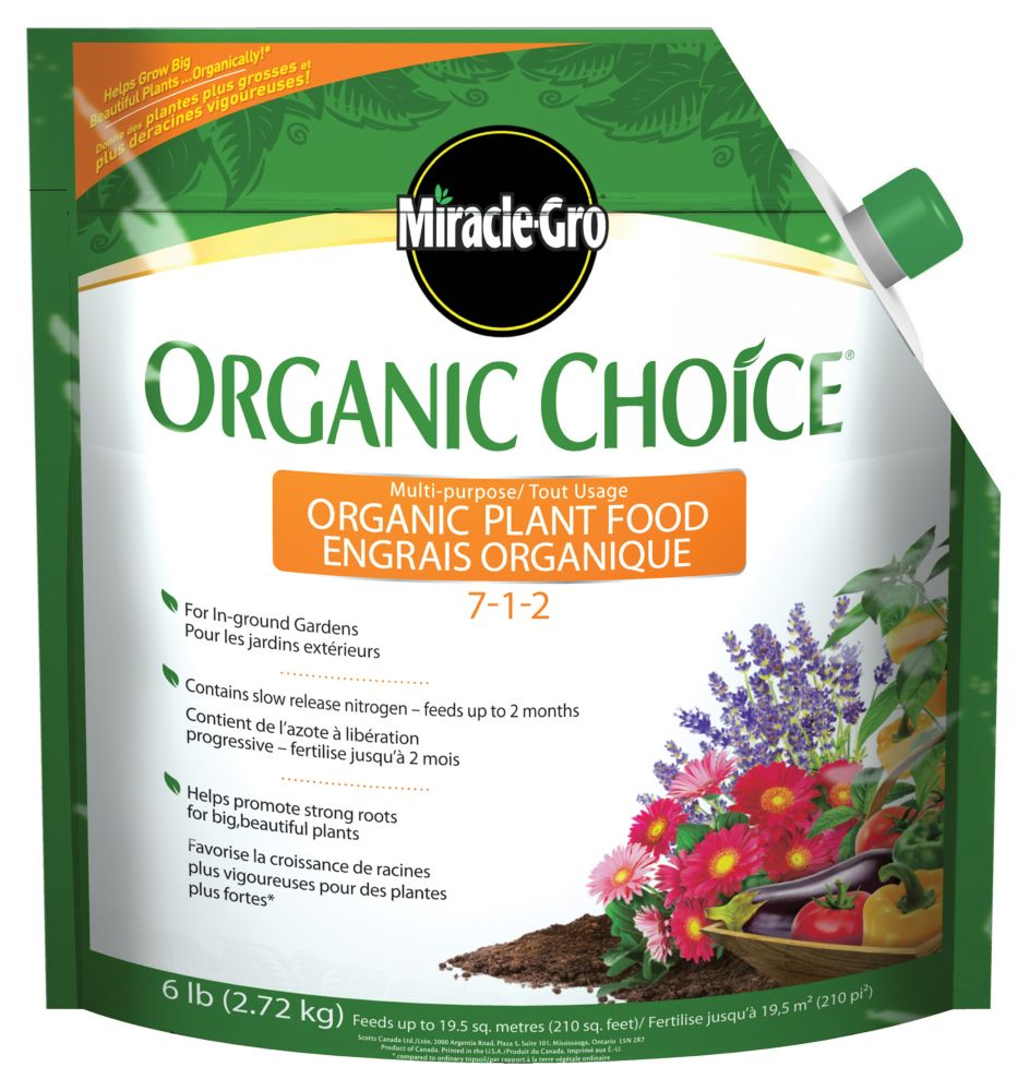 Miracle-Gro Organic Choice Plant Food
