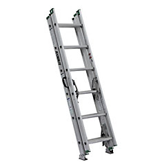 aluminum compact extension ladder 16 Feet grade II