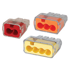 Wire connectors terminals the home depot canada assorted push in wire connectors 10pkg greentooth Choice Image