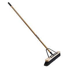 Job Site 24-inch Soft Sweep Push Broom