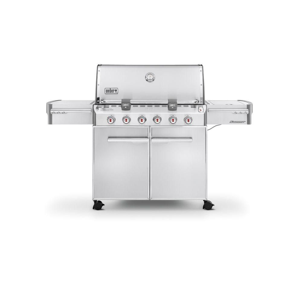 Summit<sup>®</sup> S-620� LP Gas BBQ