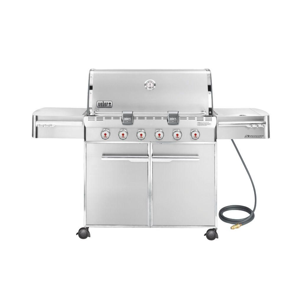 Summit<sup>®</sup> S-620� Natural Gas Barbecue