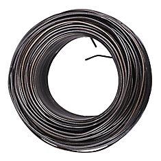 Fil d'acier de 16 gal. x 3-1/8 lb en noir - 1pqt