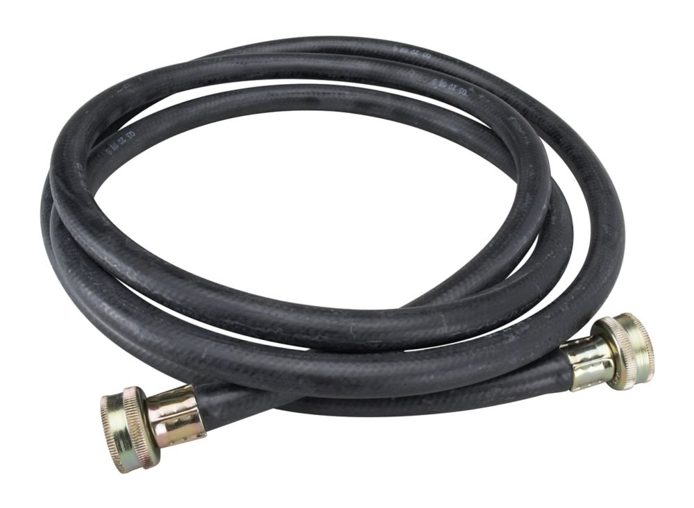 Washing Machine Filler Hose - 8' Rubber