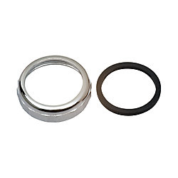 "MOEN 1-1/2"" Slip Joint Nut and Washer - Chrome"