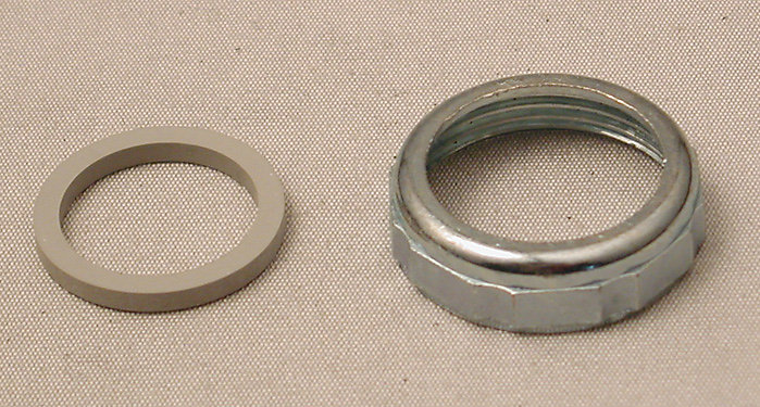 """1-1/4"""" Slip Joint Nut and Washer - Chrome"""