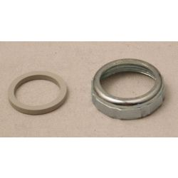 "MOEN 1-1/4"" Slip Joint Nut and Washer - Chrome"