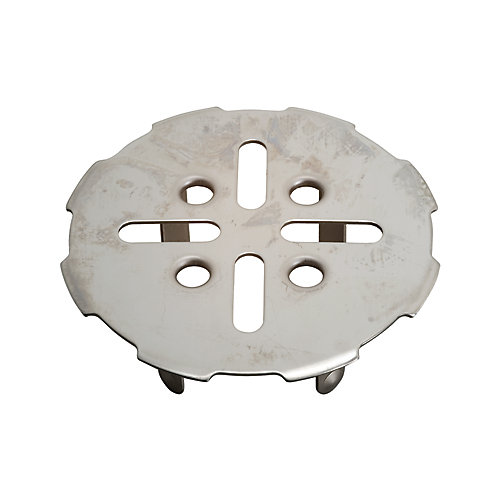 DANCO EZ Drain Cover in Brushed Nickel-10534 - The Home Depot