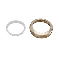 "MOEN 1-1/2"" Slip Joint Nut and Washer - Brass"