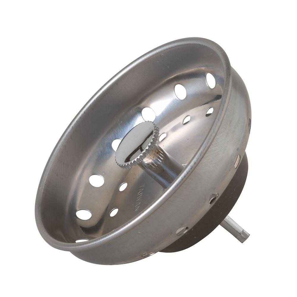 Kitchen Basket Strainer - Fixed Post