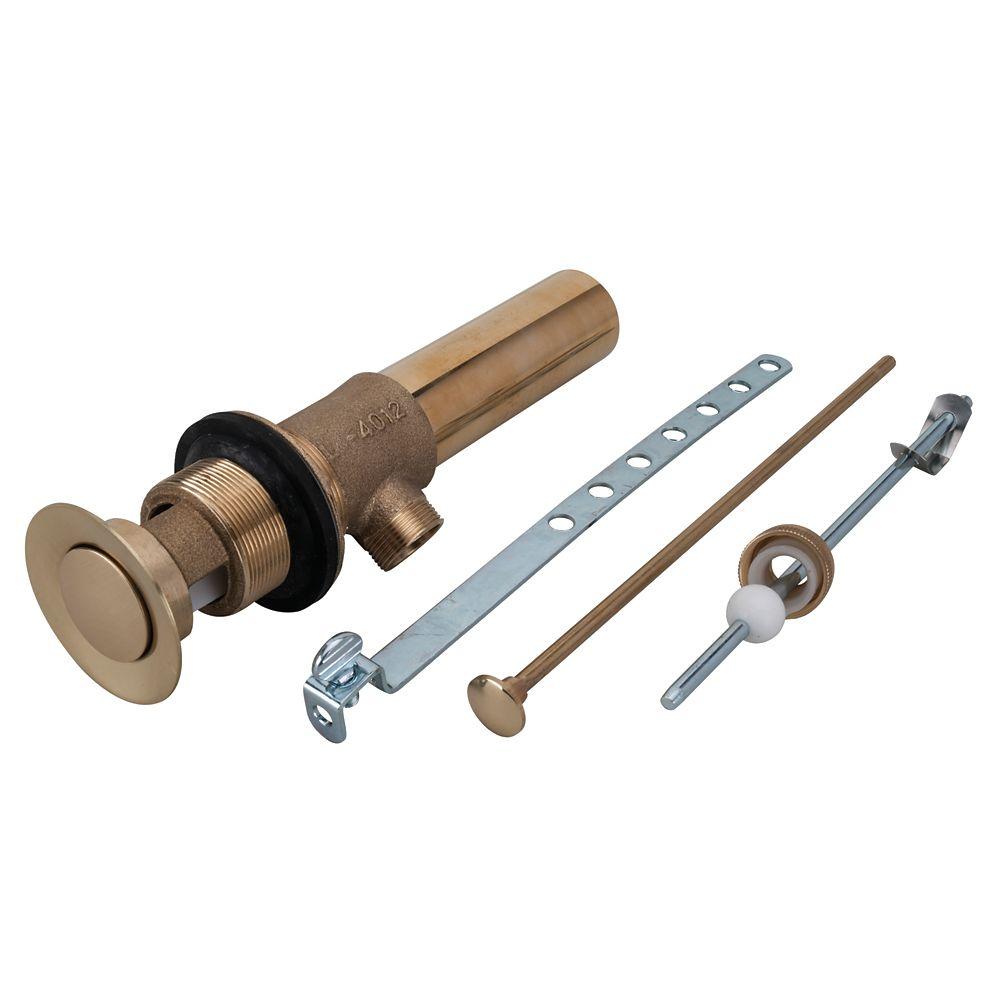 Pop-Up Assembly - Polished Brass