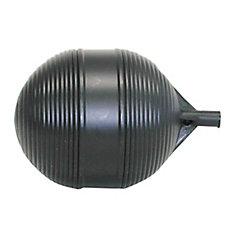 Flotteur de réservoir en polyét, noir