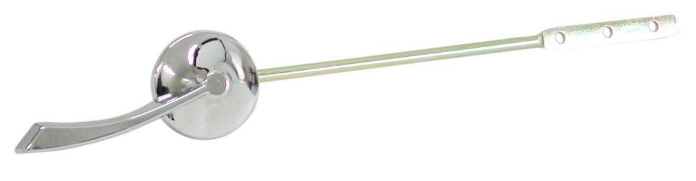 Manette de réservoir à bras long  - Chrome