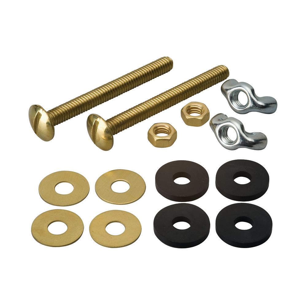 Moen Tank To Bowl Bolts - Solid Brass