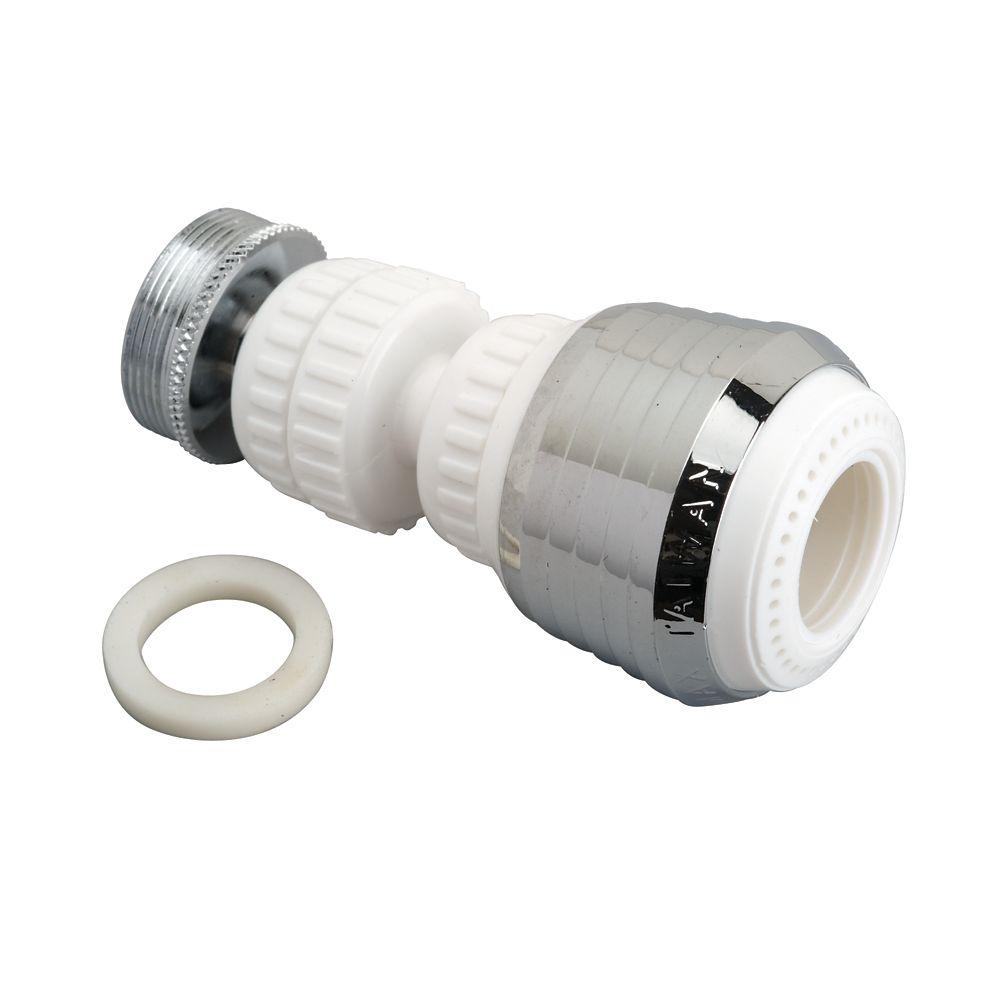 Moen Double Swivel Aerator 360 - White