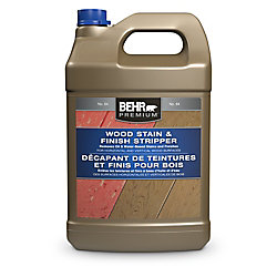 BEHR Premium Wood Stain And Finish Stripper, 3.79 L