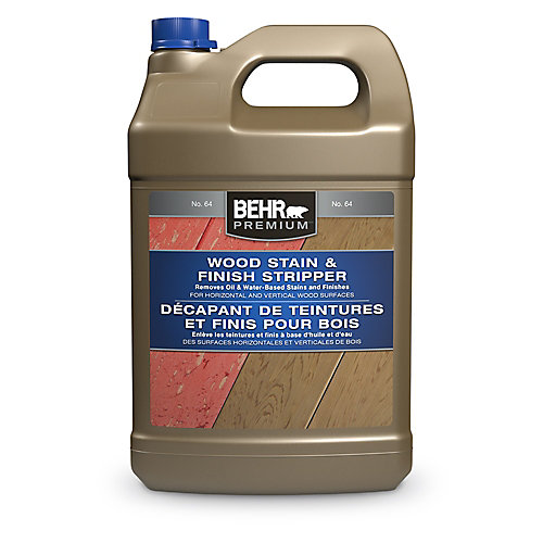 Premium Wood Stain And Finish Stripper, 3.79 L