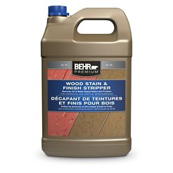 Behr BEHR PREMIUM Wood Stain and Finish Stripper, 3.79 L