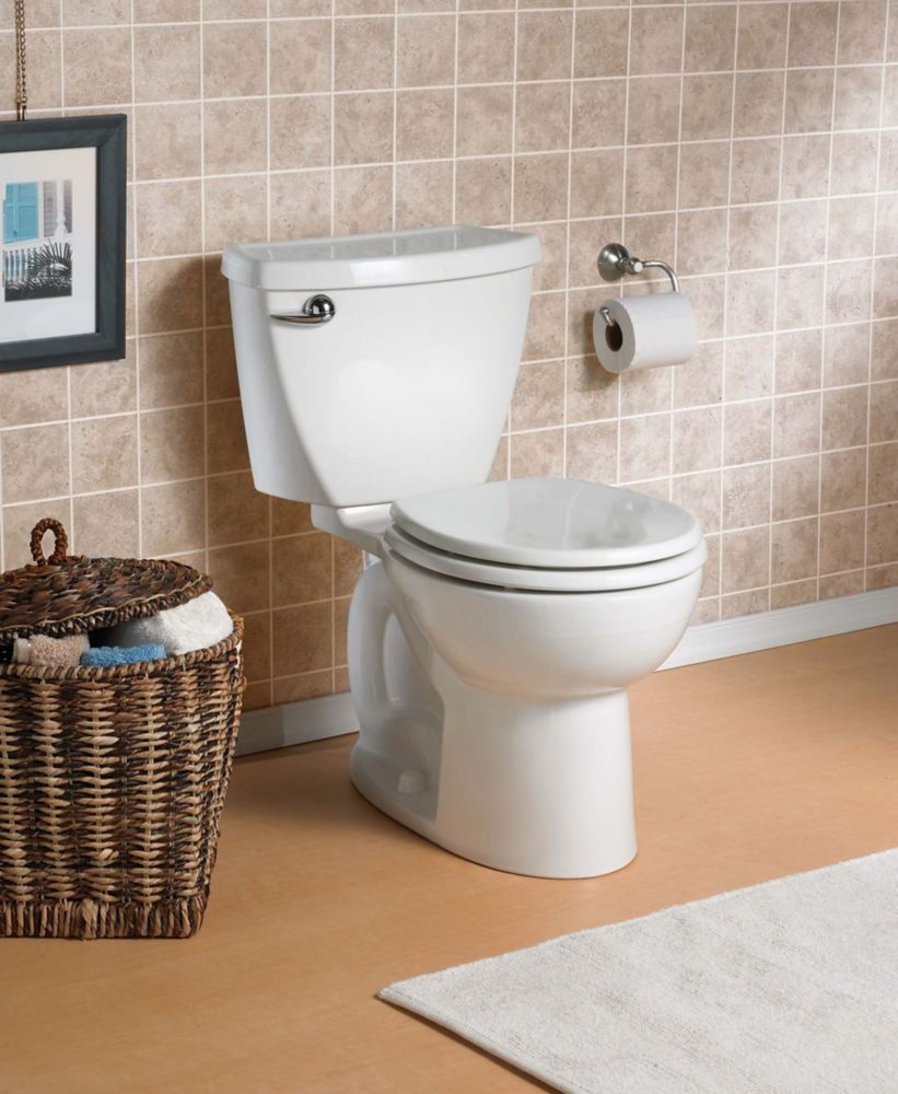 Cadet 3<sup>®</sup> 2-Piece 6 LPF Single Flush Round Front Bowl Toilet in White