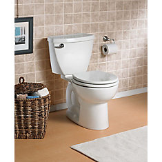 Cadet 3 2-Piece Single-Flush Round Bowl Toilet in White